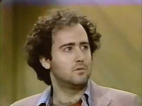 Энди Кауфман на шоу Леттермана (24 июня 1980) Озвучка Rumble