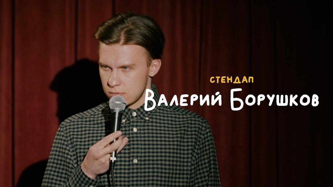 СТЕНДАП • Валерий Борушков • Друзья подарили собаку, лифт, такси