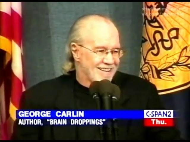 Джордж Карлин – Помёт мозга [1999] Озвучка Rumble